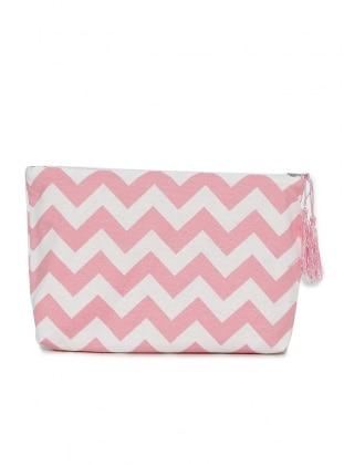 Patterned Bag - Pink - Hanimsah Aksesuar