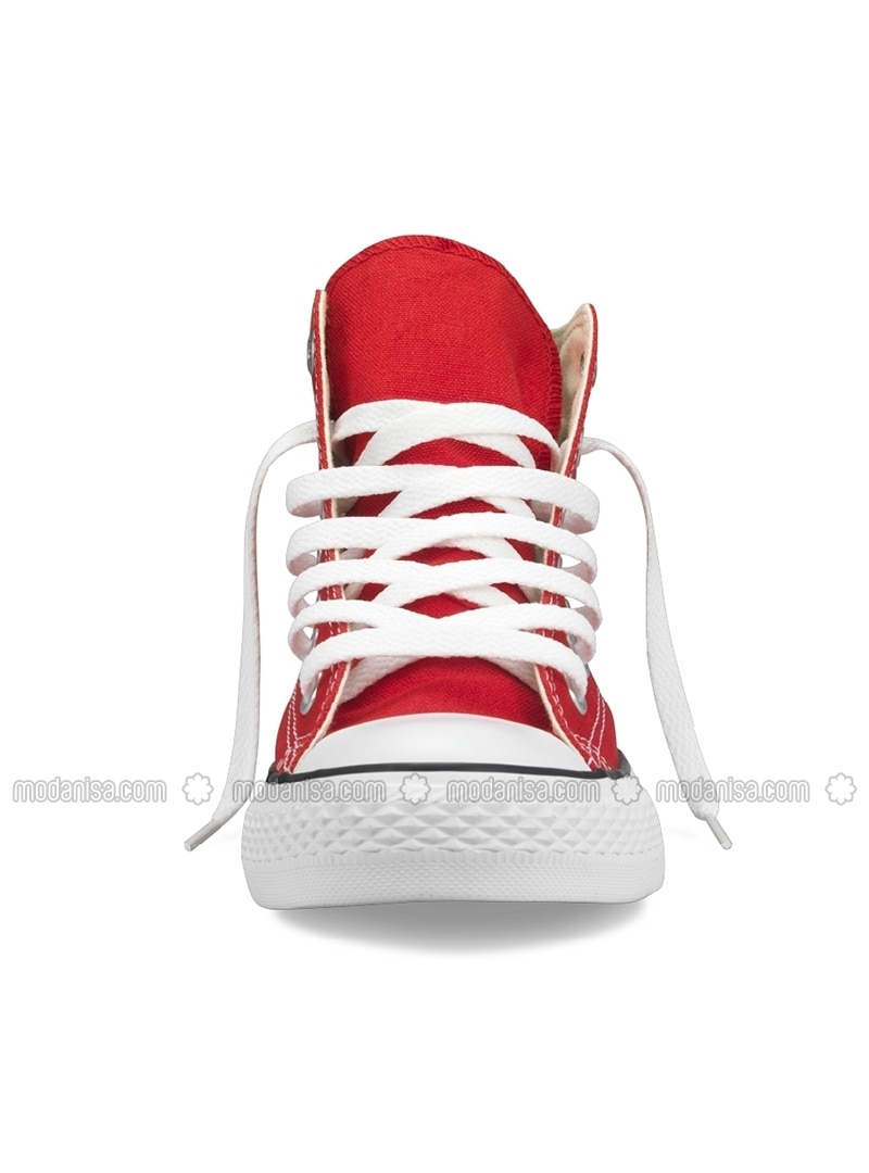 nettoyer converse rouge
