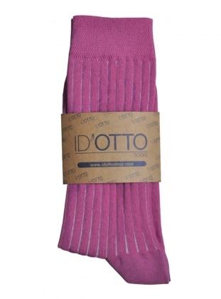 Organik Pamuk Çorap - Fusya
