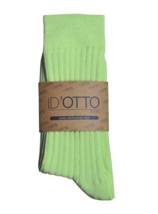Organik Pamuk Çorap - Mint yesili