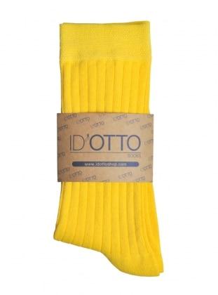 Organik Pamuk Çorap - Sari
