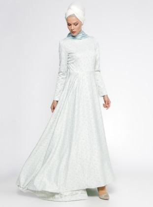 Elisa Dress - Green - Minel Ask 234092