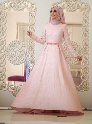 Elisa Dress - Pink - Minel Ask 234093