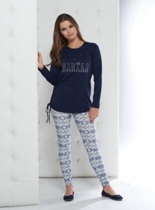 Pijama - Lacivert