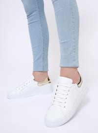 White - Sport - Casual - Sports Shoes