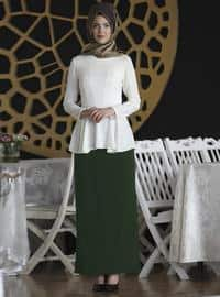 Black - Fully Lined - Emerald - Fully Lined - Skirt
