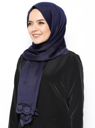 Shawl - Navy Blue