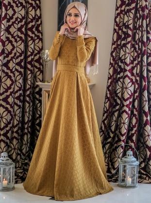 Dress - Yellow - Minel Ask 237060