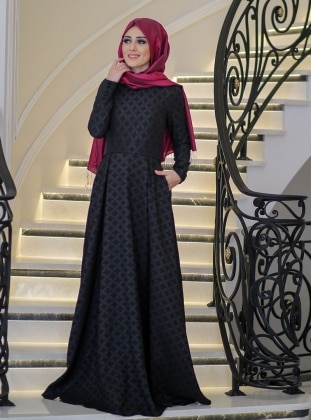 Dress - Black - Minel Ask 237061