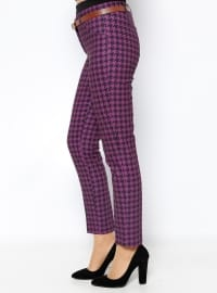 Pants - Purple