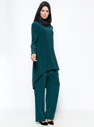 Tunik & Pantolon İkili Takım - Zümrüt