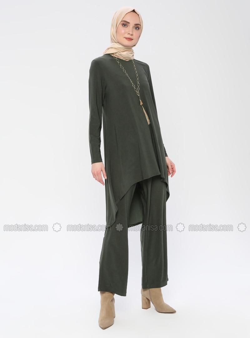Khaki - Unlined - Khaki - Unlined - Suit