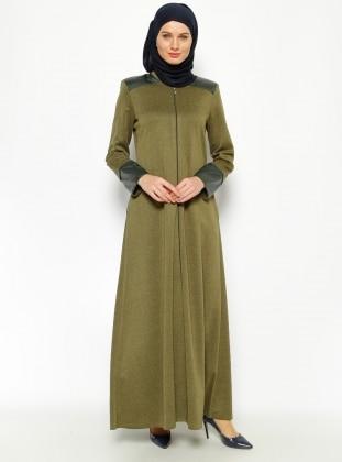 Abaya – Khaki – Jamila