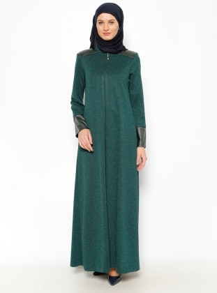 Abaya – Green – Jamila