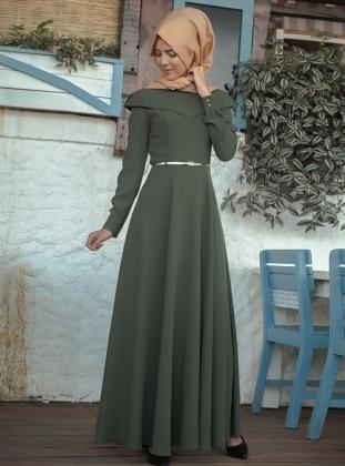 Dress - Khaki