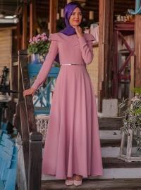 Nefes Elbise - Pudra - Nurkombin