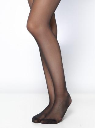 Elit 40 Bayan Külotlu Çorap - Siyah Daymod