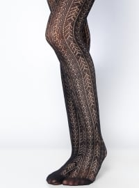 DAYMOD Amatista Bayan Külotlu Çorap - Siyah - DAYMOD