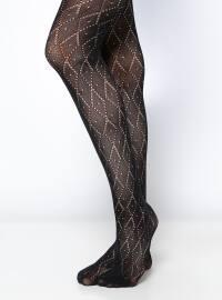 DAYMOD Delhi Bayan Külotlu Çorap - Siyah - DAYMOD
