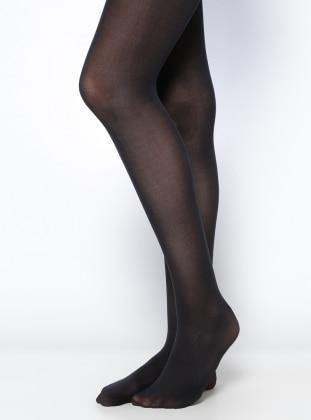 Penti Micro 40 Külotlu Çorap - Siyah