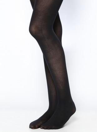 Penti Penti Koton 60 Külotlu Çorap - Siyah
