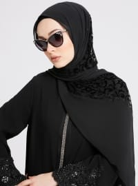 Shawl - Black - Eşarp