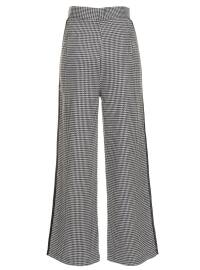 Navy Blue - Houndstooth - Pants - Refka