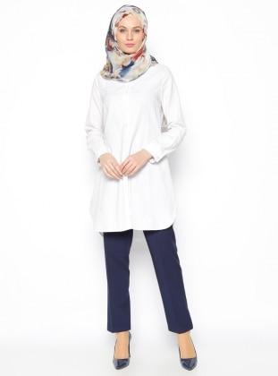 Klasik Pantolon - Lacivert Modesty