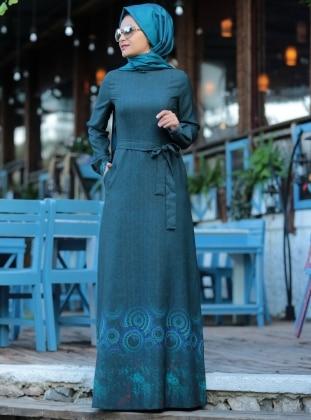 Elvina Elbise - Petrol