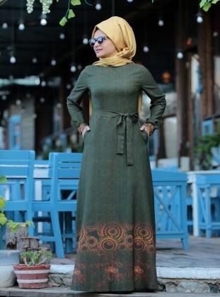 Elvina Elbise - Yeşil