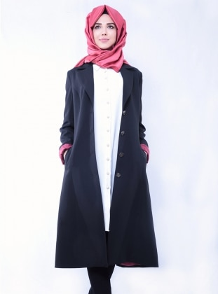 Güzin Ceket - Siyah Nurkombin