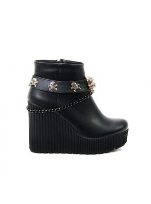 Ayakkabı Havuzu Bot - Siyah