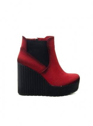 Red - Red - Boot - Red - Boot - Red - Boot - Casual Shoes