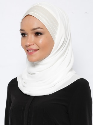 Instant Scarf - White