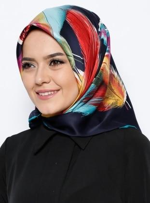 Sura Eşarp - Karışık Renkli Bonjela
