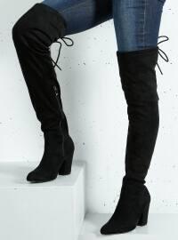 Çizme - Siyah - BAMBİ AYAKKABI