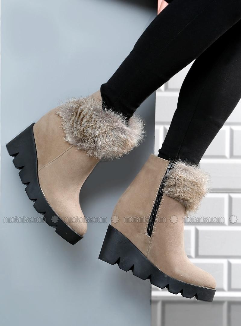 Boots - Minc - BAMBİ AYAKKABI