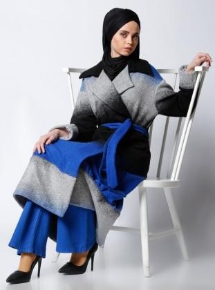 Al Tatari Keçe Kap - Mavi