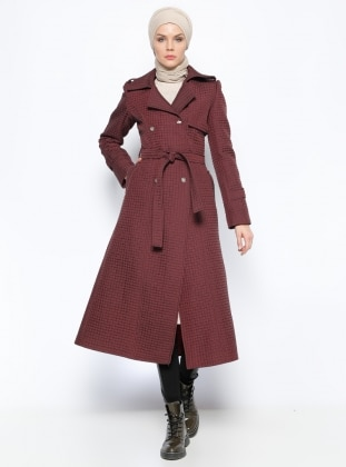 Kapitone Kaban - Bordo Ecrin Collection