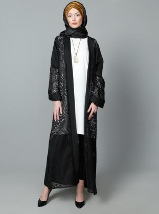 Mervin Yakma Abiye Ferace - Siyah