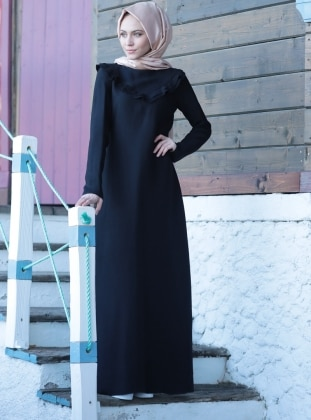 Dress - Black - Minel Ask 261615