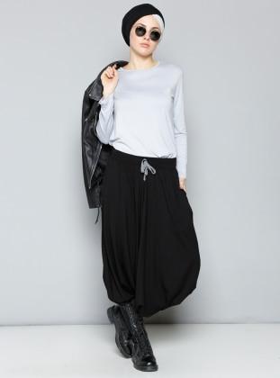 Şalvar Pantolon - Siyah Miorespiro