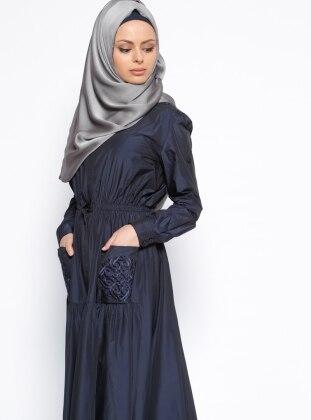 Blazer Elbise - Lacivert