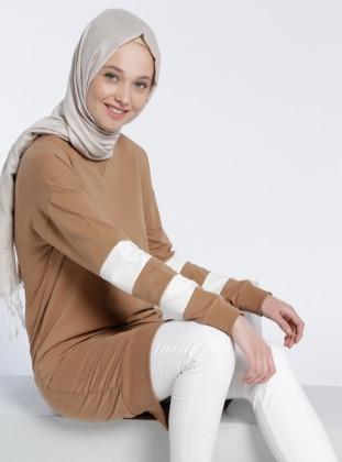 Spor Tunik - Camel