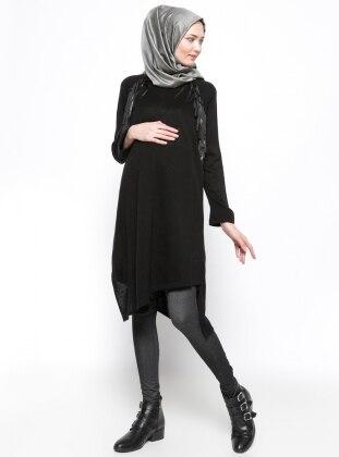 Havva Ana Hamile Tayt Pantolon - Siyah