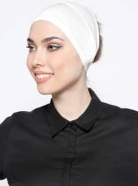Tuva Şal Saç Bantı - Ekru - Tuva Şal