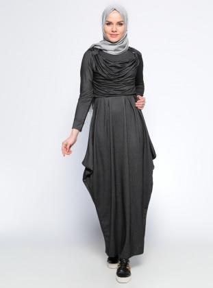 Bluz&Elbise İkili Takım - Siyah
