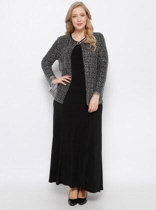 Ceket & Elbise İkili Takım - Siyah
