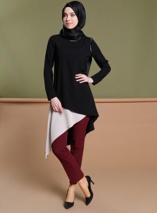 Klasik Pantolon - Bordo