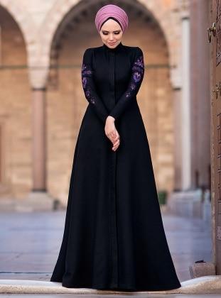 Mehendi Elbise - Siyah